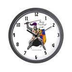Knight Wall Clock