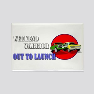 Out to Launch - Weekend Warrior Magnets