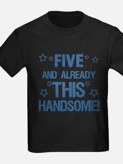 Cool 5th Birthday T-Shirt