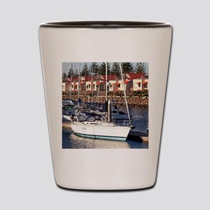 Yachts in Marina, North Haven, South Au Shot Glass