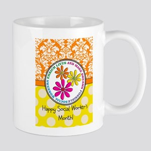 Happy Social worker month 3 Mugs