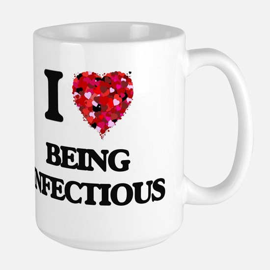 I Love Being Infectious Mugs