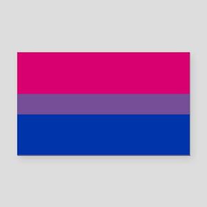 Bisexual Pride Flag Rectangle Car Magnet