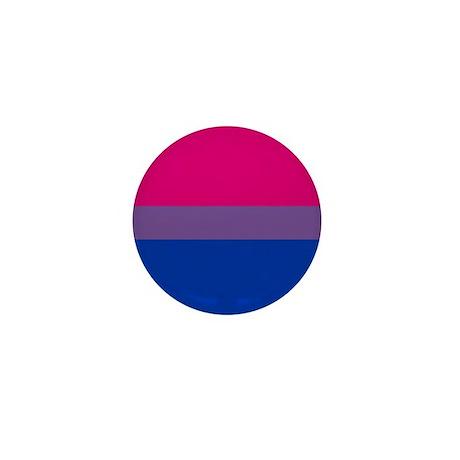 Bisexual Pride Flag Mini Button
