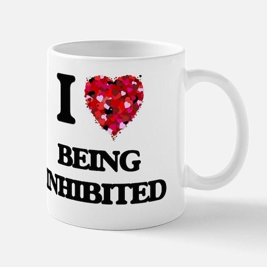 I Love Being Inhibited Mug