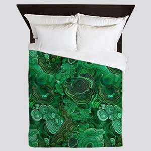 Malachite Queen Duvet