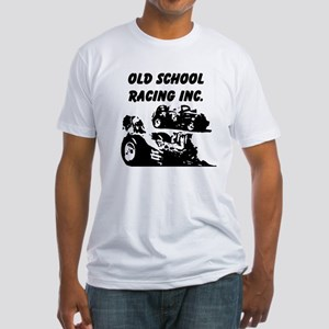 AFTM OLd School Racing Inc4 Fitted T-Shirt