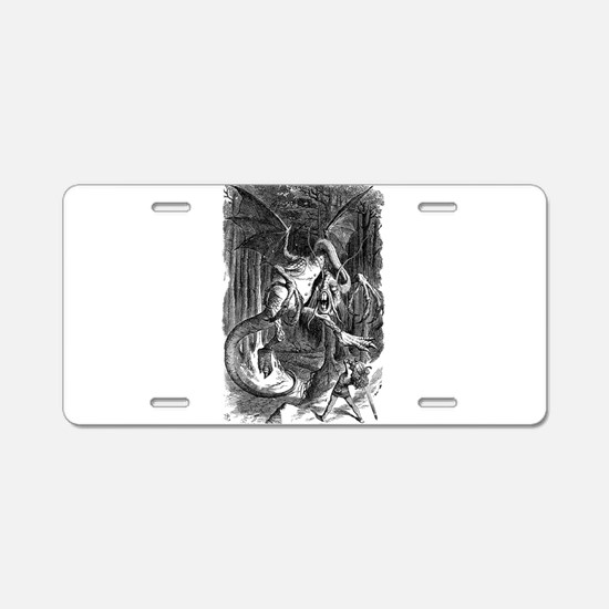 Cute Lewis carroll Aluminum License Plate