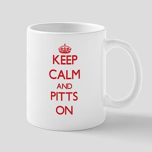 Keep Calm and Pitts ON Mugs