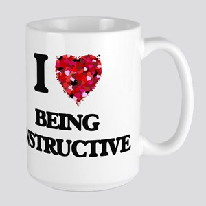 I Love Being Instructive Mugs
