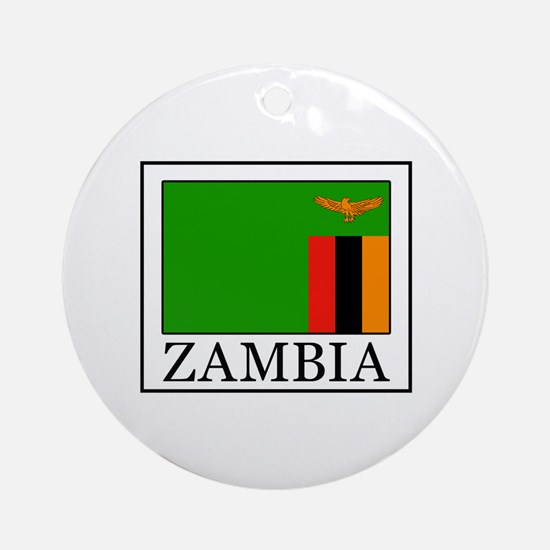 Zambia Ornament (Round)