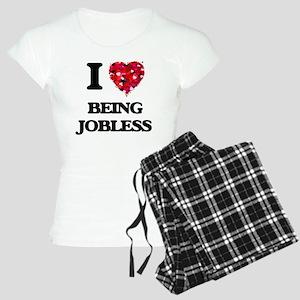 I Love Being Jobless Women's Light Pajamas