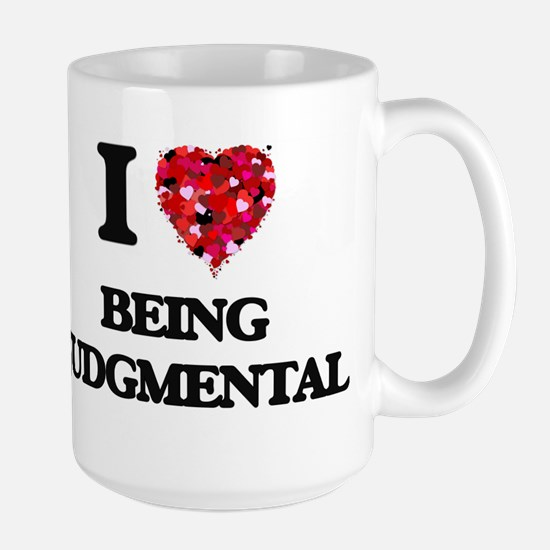 I Love Being Judgmental Mugs