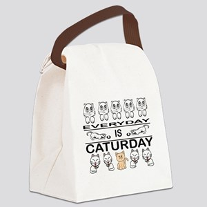 CATS - EVERYDAY IS CATURDAY Canvas Lunch Bag