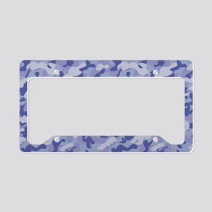 Inverted Camouflage License Plate Holder