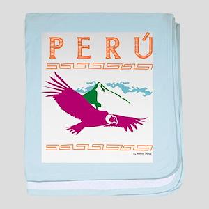 Condor Andino baby blanket
