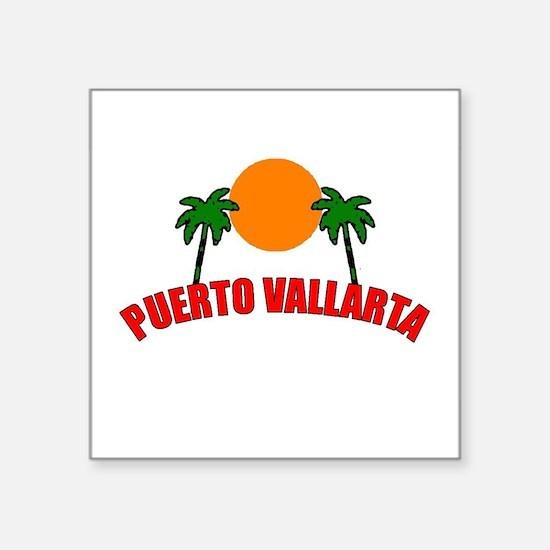 """Cute Puerto vallarta Square Sticker 3"""" x 3"""""""