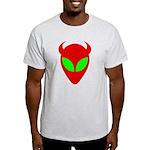 Evil Alien/AlienShack Logo Light T-Shirt