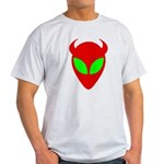Evil Alien/AlienShack Logo Light T-Shirt