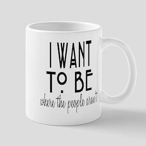 Where the People Aren't Mug