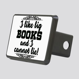 I Like Big Books And I Can Rectangular Hitch Cover