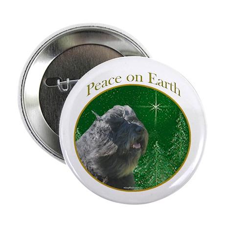 Bouvier Peace Button
