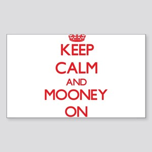 Keep Calm and Mooney ON Sticker