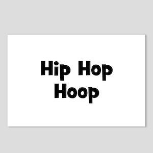 Hip Hop Hoop Postcards (Package of 8)