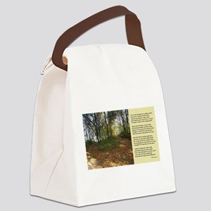 Road Not Taken Canvas Lunch Bag
