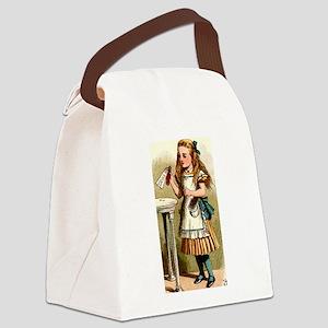 Alice in Wonderland - Drink Me Canvas Lunch Bag