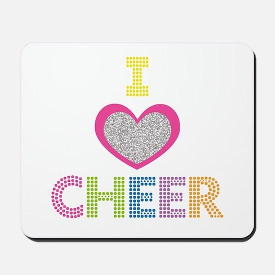 I Heart Cheer Mousepad