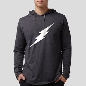 Lightning Bolt White Long Sleeve T-Shirt
