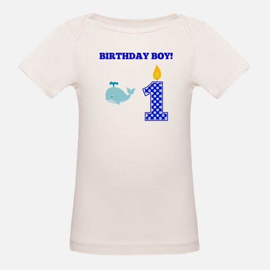Birthday Boy Whale T-Shirt