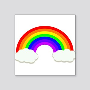 Rainbow in the cloud Sticker