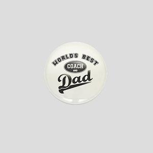 Best Coach/Dad Mini Button