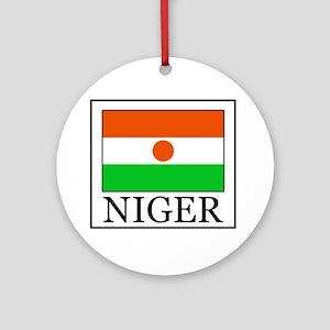 Niger Round Ornament