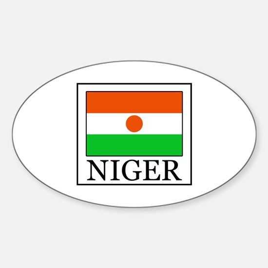 Niger Sticker (Oval)