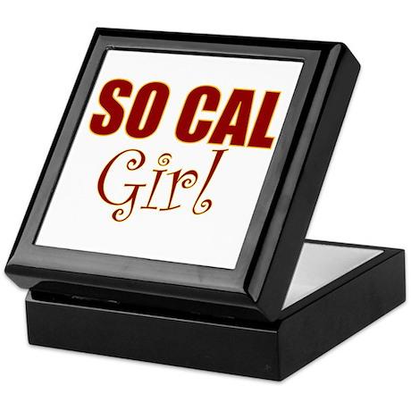 So Cal Girl Keepsake Box