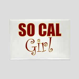 So Cal Girl Rectangle Magnet