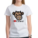 I Love Cows Women's T-Shirt