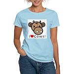 I Love Cows Women's Light T-Shirt