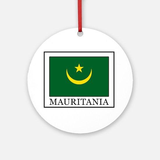 Mauritania Ornament (Round)