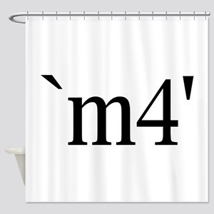 `m4' Shower Curtain