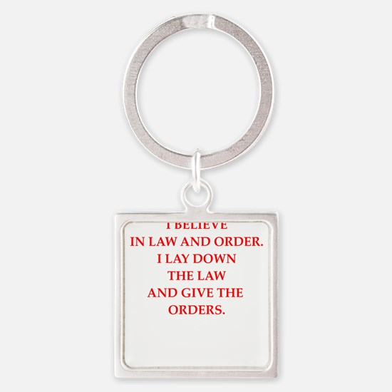 law and order Keychains