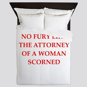 attorney Queen Duvet