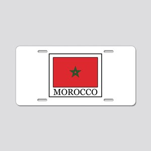 Morocco Aluminum License Plate