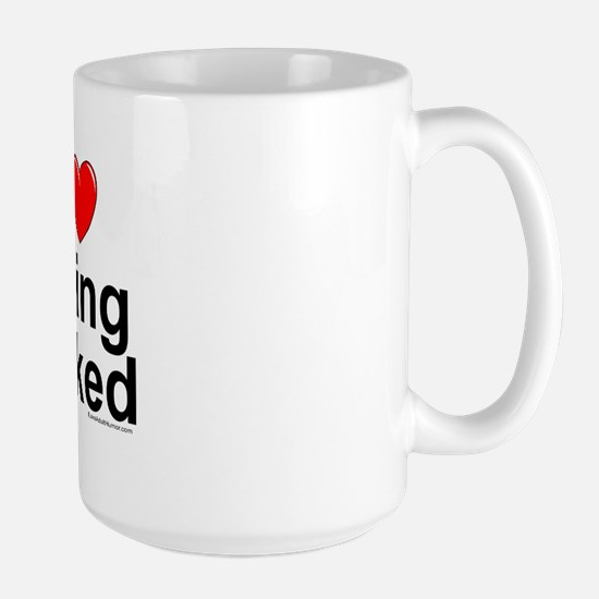 Being Naked Large Mug