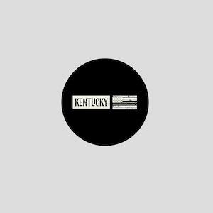 U.S. Flag: Kentucky Mini Button