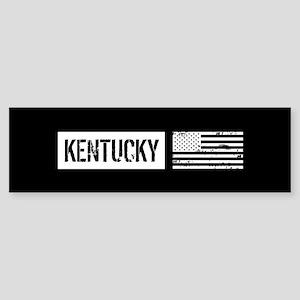 U.S. Flag: Kentucky Sticker (Bumper)