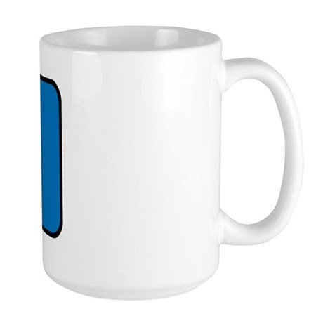 PARKOUR LOGO Large Mug
